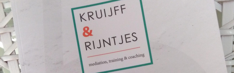 Kruijff en Rijntjes magazine lustrum scheiding, mediation, coaching